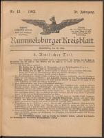 1903, Rummelsburger Kreisblatt 1903 No 42