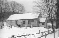 Sadkowski, Tadeusz, 1980, XVIII-wieczny kościół szkieletowy z wolno stojącą dzwonnicą - Tyłowo