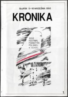 Kronika : 27 Festiwal Pianistyki Polskiej