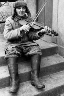 Wiejski skrzypek Józef Wójtowicz