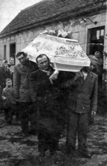 Pogrzeb Bronisławy Bronieckiej