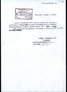 [Pismo do Naczelnika Miasta w Lęborku]