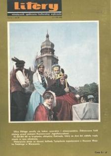 Litery : magazyn społeczno-kulturalny Wybrzeża, 1968, nr 7
