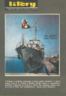 Litery : magazyn społeczno-kulturalny Wybrzeża, 1968, nr 9