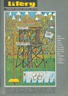 Litery : magazyn społeczno-kulturalny Wybrzeża, 1968, nr 10