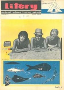 Litery : magazyn społeczno-kulturalny Wybrzeża, 1965, nr 6