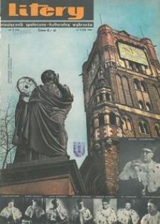 Litery : magazyn społeczno-kulturalny Wybrzeża, 1966, nr 5