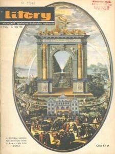 Litery : magazyn społeczno-kulturalny Wybrzeża, 1966, nr 7