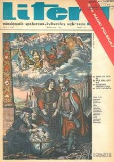 Litery : magazyn społeczno-kulturalny Wybrzeża, 1973, nr 1