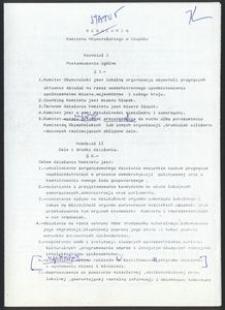 Statut Komitetu Obywatelskiego w Słupsku