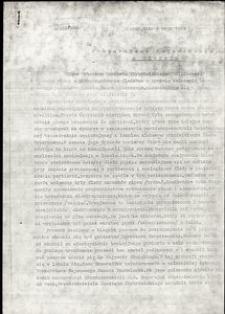 Pismo do Prokuratora Wojewódzkiego w Słupsku