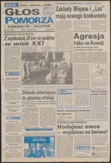 Głos Pomorza, 1990, sierpień, nr 179
