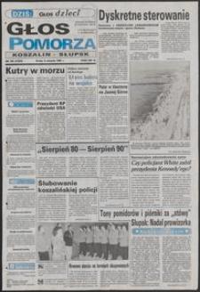 Głos Pomorza, 1990, sierpień, nr 183