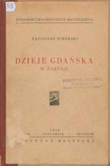 Dzieje Gdańska w zarysie