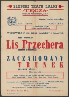 Lis Przechera : afisz do spektaklu