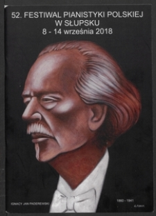 52. Festiwal Pianistyki Polskiej w Słupsku 8-14 września 2018