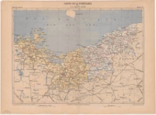 Carte de la Poméranie / par V. A. Malte-Brun; gravé par Erhard