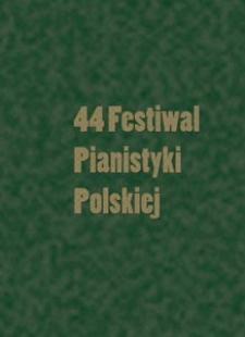 Kronika : 44 Festiwal Pianistyki Polskiej